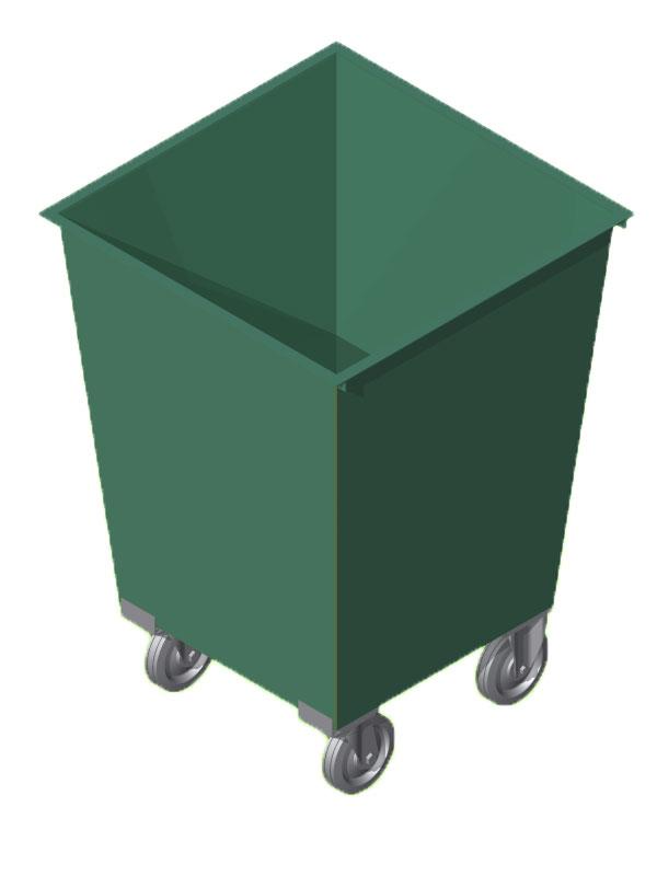 Бак мусорный AB-4004