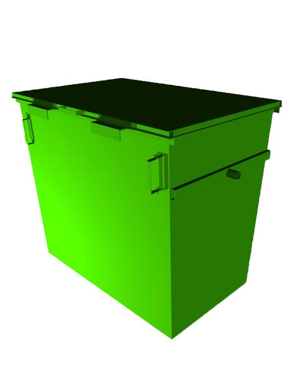 Контейнер мусорный AB-4021