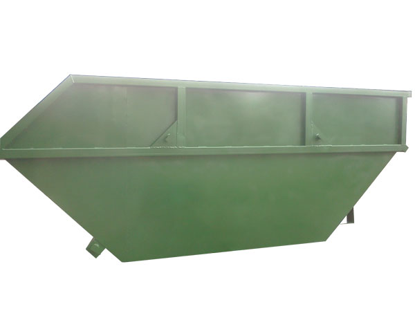 Бункер для мусора Лодочка с крышкой  AB-4106