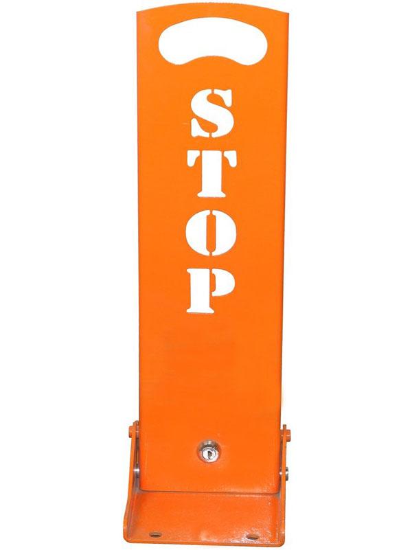 Барьер парковочный STOP эконом