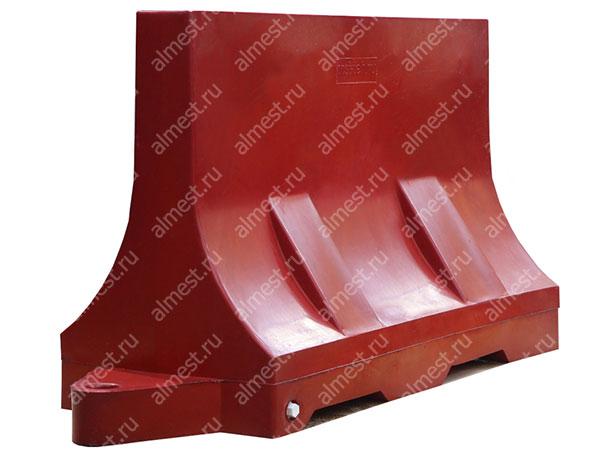 Барьер водоналивной БВ-1,2 красный