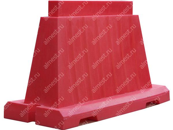 Барьер водоналивной вкладывающийся БВВ-1,2 красный