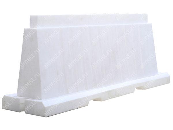 Барьер водоналивной вкладывающийся БВВ-2,0 белый