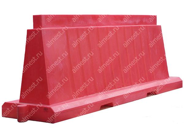 Барьер водоналивной вкладывающийся БВВ-2,0 красный