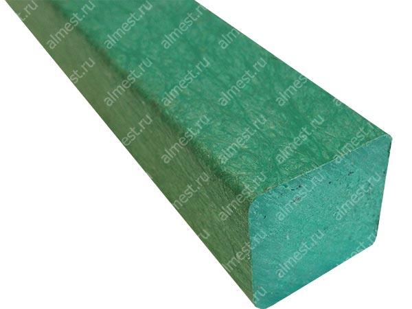 Брус квадратный пластиковый 70*70*2400 цв