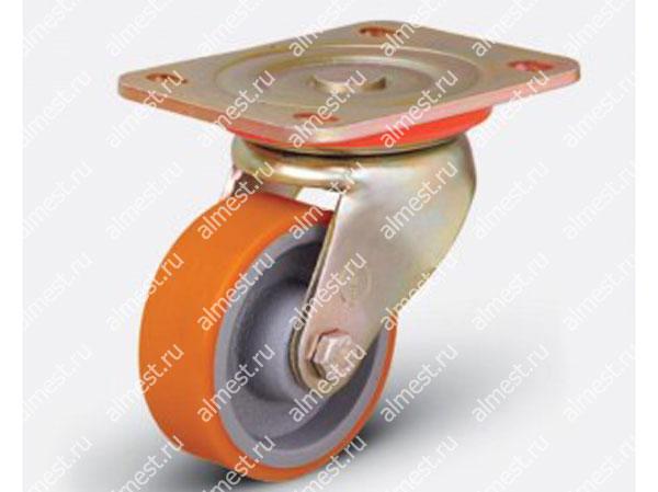 Колесо большегрузное поворотное ED01 VBP 125*40