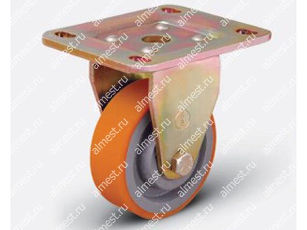 Колесо большегрузное неповоротное ED02 VBP 125*40