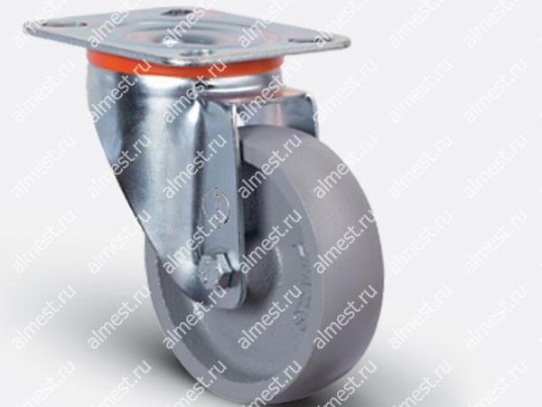 Колесо термостойкое поворотное EM01 VKV100