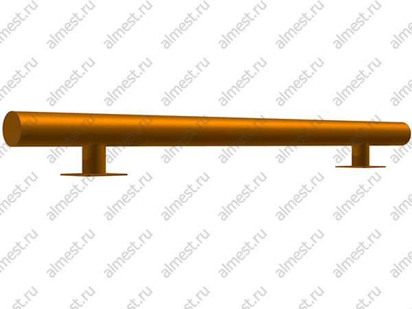 Колесоотбойник металлический AP-3010-2000 108мм