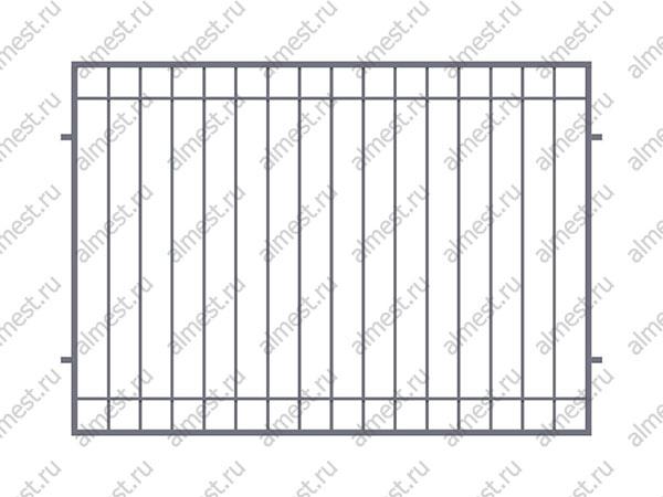 Секция заборная AB-5071 1,5м