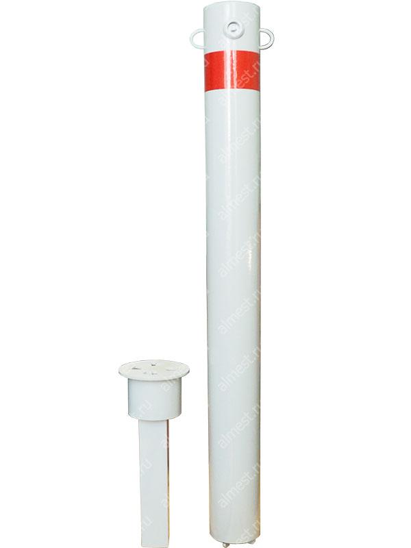 Столбик парковочный AP-1022 съемный с ушками Эконом
