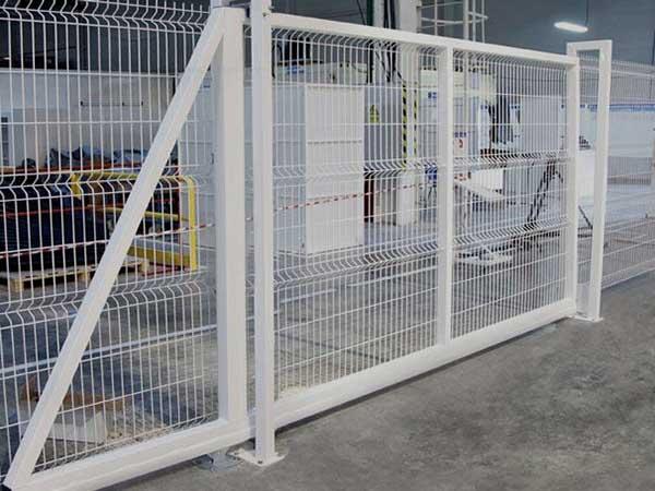 Ворота откатные 3D Profi 2.03*5